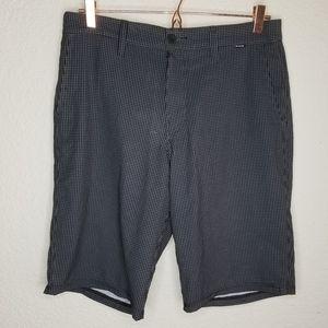 Hurley Phantom Board Shorts Swim Wear Black Grey